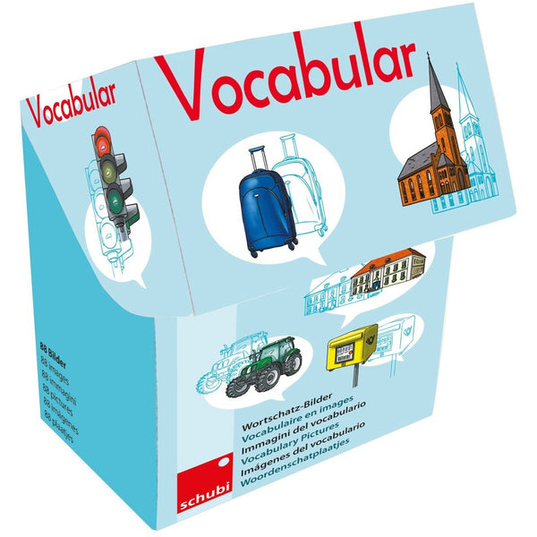 Schubi Vocabulary picture cards - Vehicles, Traffic... - toybox.ae