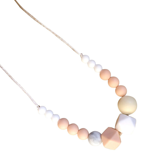 Desert Chomps Nova Necklace - Peach