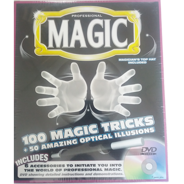 MEGA 100 MAGIC TRICKS BOX SET