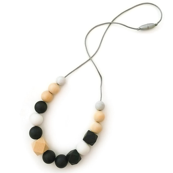 One.Chew.Three - Addison Necklace - Mono - toybox.ae