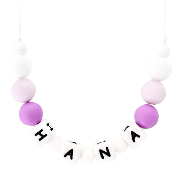 Desert Chomps Little Missy Necklace - Purple - toybox.ae