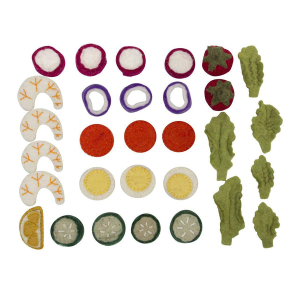 Papoose Salad Set/30pc - toybox.ae