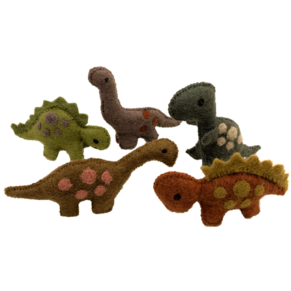 Dinosaurs Natural/5pc - toybox.ae