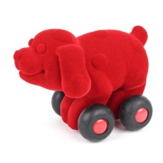 Aniwheelies Dog red -Small - toybox.ae