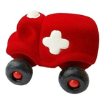 Hopkins the Little Ambulance -Red - toybox.ae