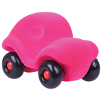 The Little Rubbabu Car - Pink - toybox.ae