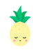 Sleepy Pineapple Wall Art Print - toybox.ae