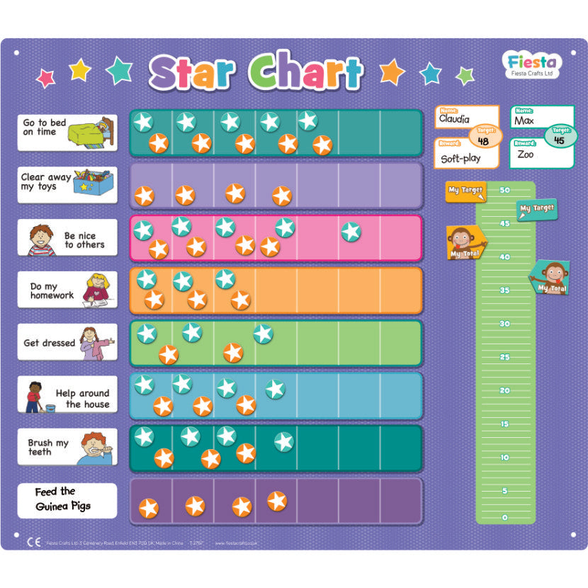 Fiesta Crafts Star Chart Extra Large - toybox.ae