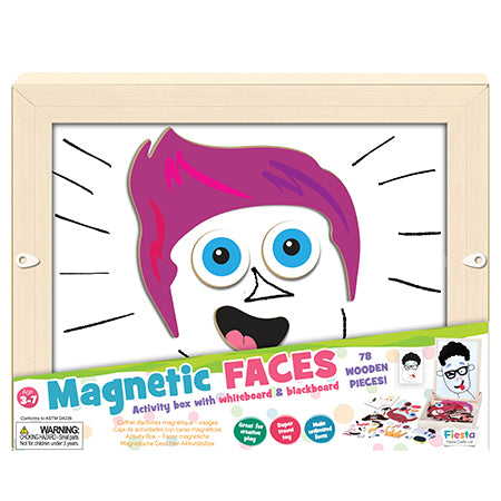 Fiesta Crafts Faces Activity Box T-2884 - toybox.ae