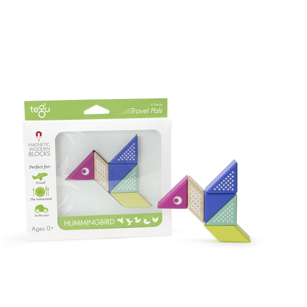 Tegu Travel Pal Hummingbird (6 Piece) - toybox.ae