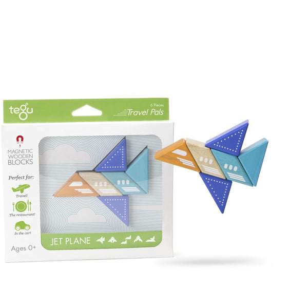 Tegu Travel Pal Jet(6 Piece)