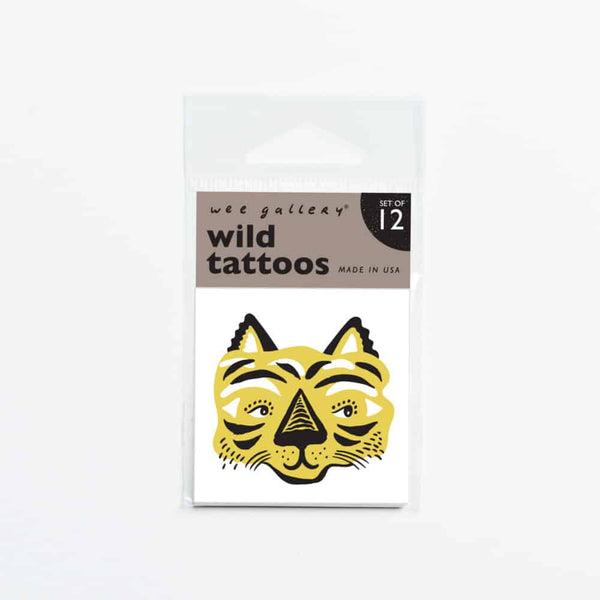 Wee Gallery Wild Temporary Tattoos - toybox.ae