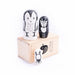 Wee Gallery Set of 3 Nesting Dolls - Woodland Creatures - Owl, Deer, Bunny