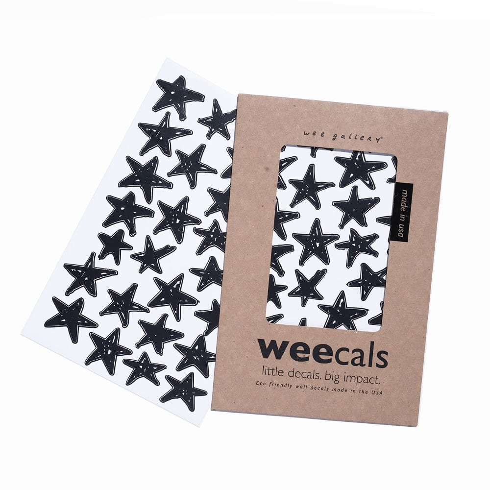 Wee Gallery WeeCals Scribble Stars - toybox.ae