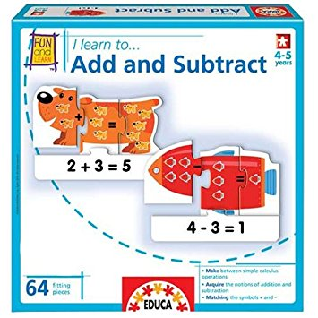 Educa Add and Subtract - toybox.ae