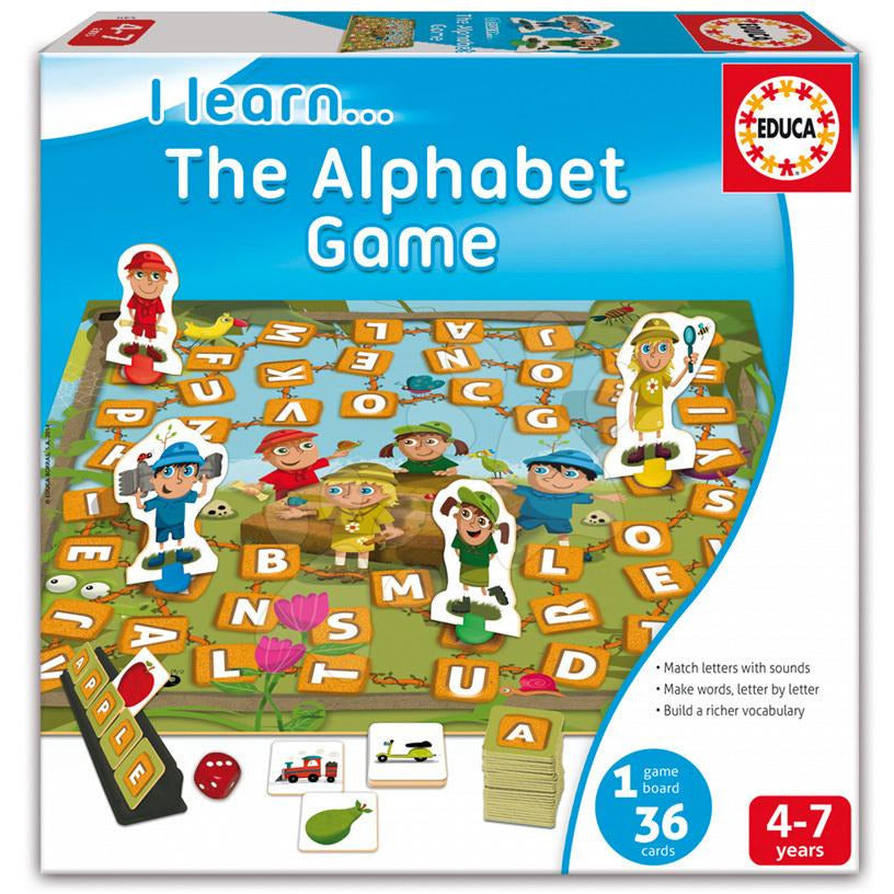 Educa - The Alphabet Game - toybox.ae