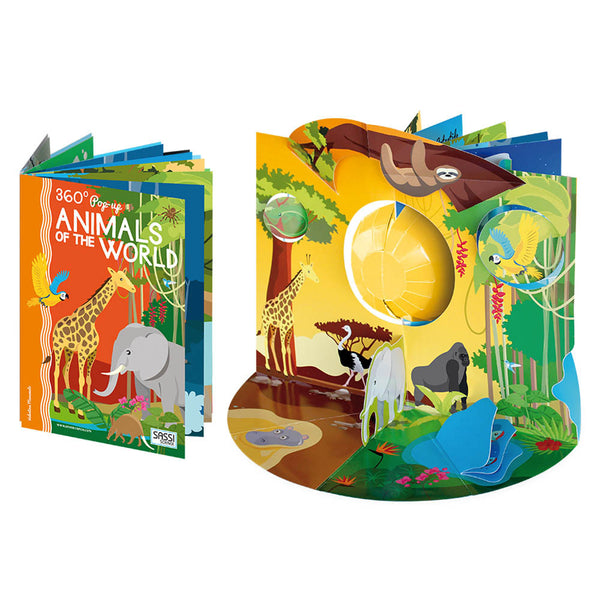 360 Pop-Up Animals of the World