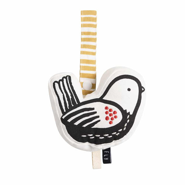 Wee Gallery Birdie Stroller Toy - Organic Cotton