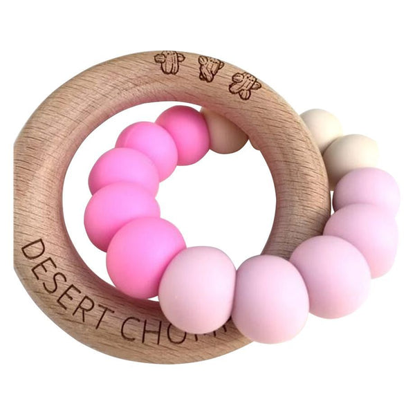 Desert Chomps Lasso Classic Teether - Pink