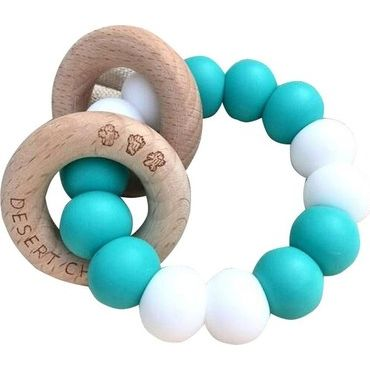 Desert Chomps Lasso Summer Time Teether - Aqua Marine