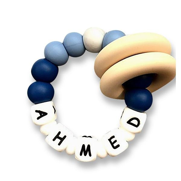 Desert Chomps Personalized Teether - Vera - Midnight Blue