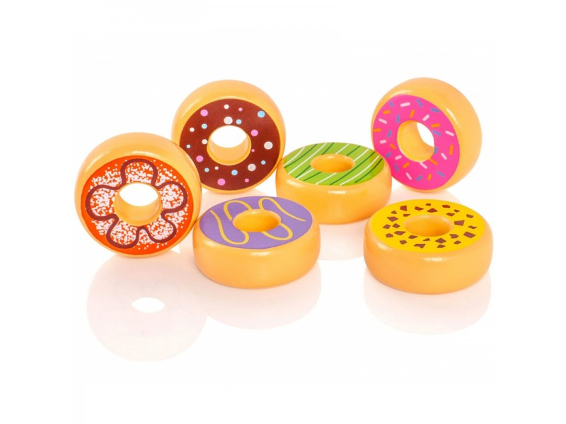 Donuts Play Set (6 pcs) - toybox.ae