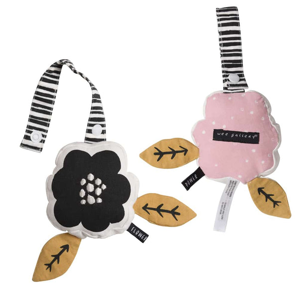 Wee Gallery Flower Stroller Toy - Organic Cotton