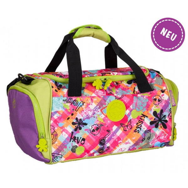 Okiedog Wildpack Jungle Fever Graffiti Travel Bag Girl - toybox.ae