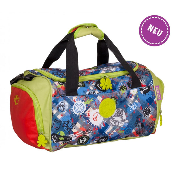 Okiedog Wildpack Jungle Fever Graffiti Travel Bag Boy - toybox.ae