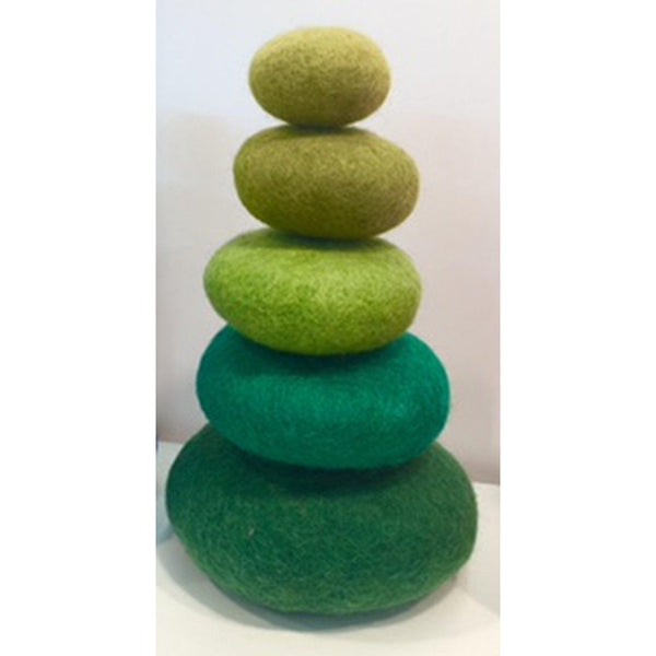 Stacking Set/5pc Green - toybox.ae