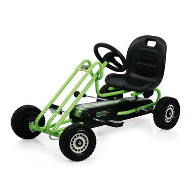 Hauck Lightning Go Cart Race Green - toybox.ae