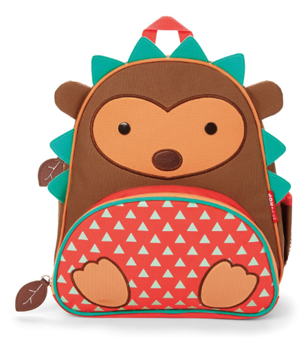 Zoo Backpack Hedgehog - toybox.ae