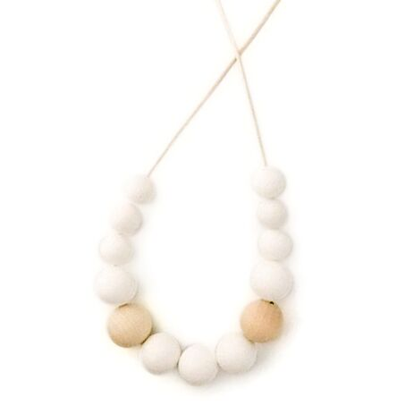 One.Chew.Three - Evie Necklace - White - toybox.ae