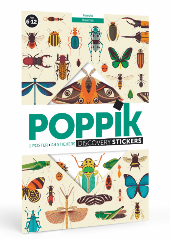 Sticker Poster Discovery - Insects - toybox.ae