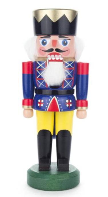 Nutcracker king blue 21 cm - toybox.ae