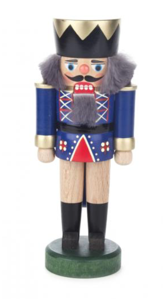 Nutcracker king blue 17 cm