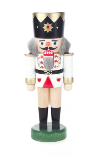 Nutcracker King white 18cm - toybox.ae