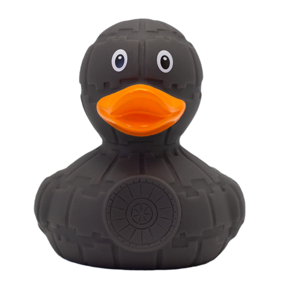 Grey Star Duck - design by LILALU - toybox.ae