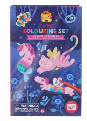 Colouring Set - Magical Creatures - toybox.ae