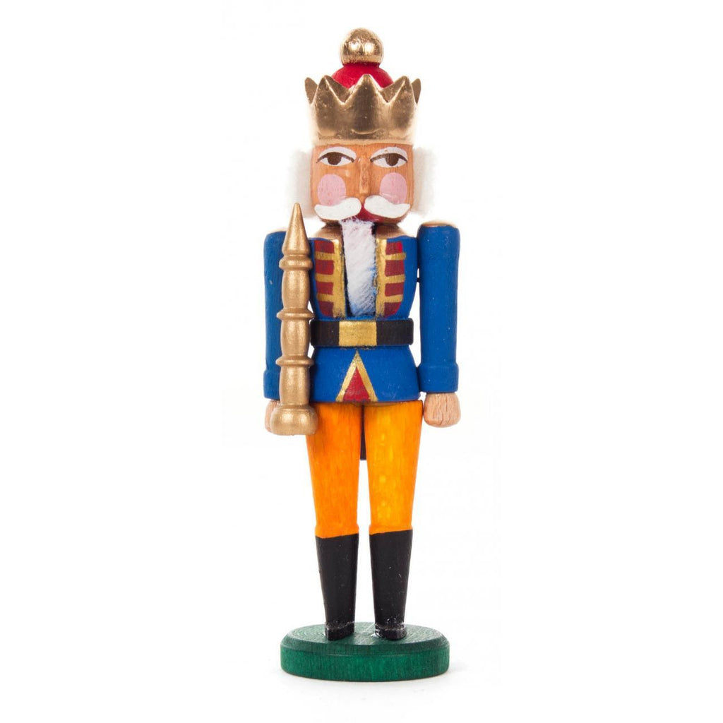 Mini Nutcracker King Blue - Orange - toybox.ae
