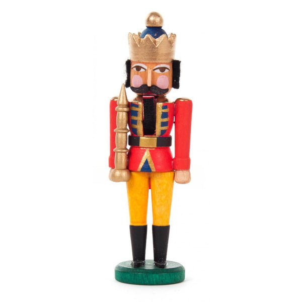 Mini Nutcracker King Red - Yellow - toybox.ae