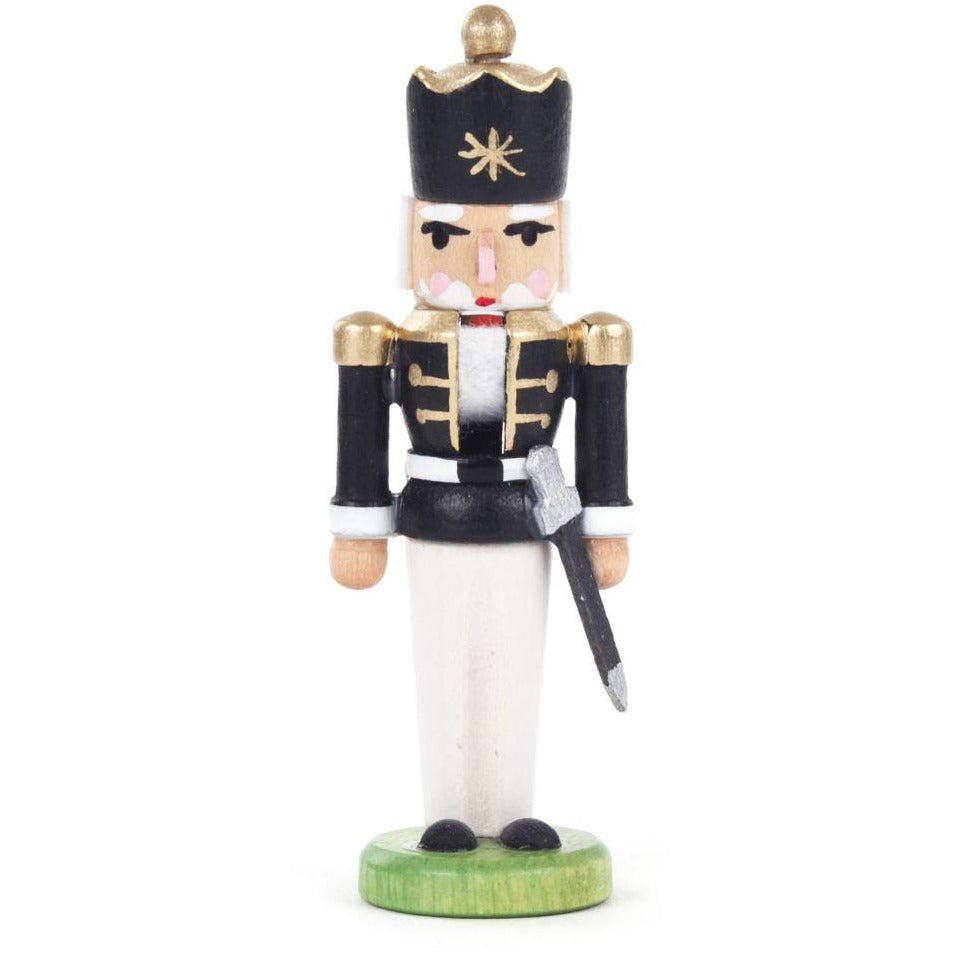 Mini Nutcracker King Black - White - toybox.ae