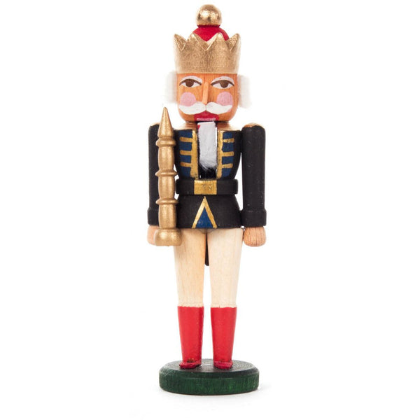 Mini Nutcracker King Black White - toybox.ae