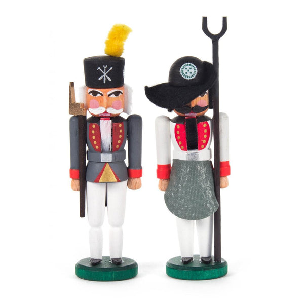 Set of 2 Mini Nutcrackers - toybox.ae