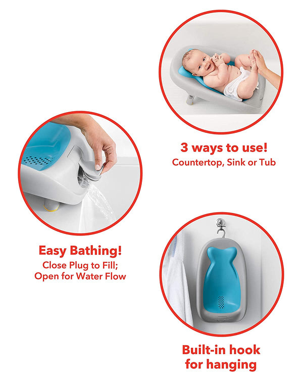 Moby Recline & Rinse Bather