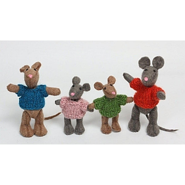 Mouse Family 4pc