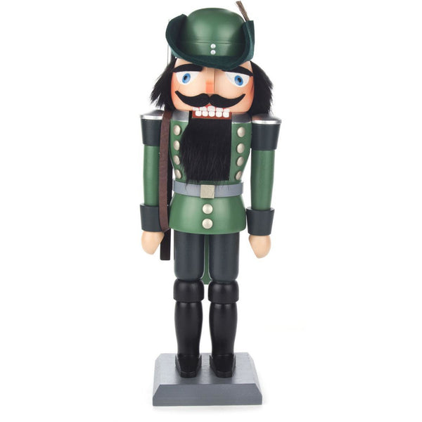 Nutcracker Forester Green, 28cm - toybox.ae