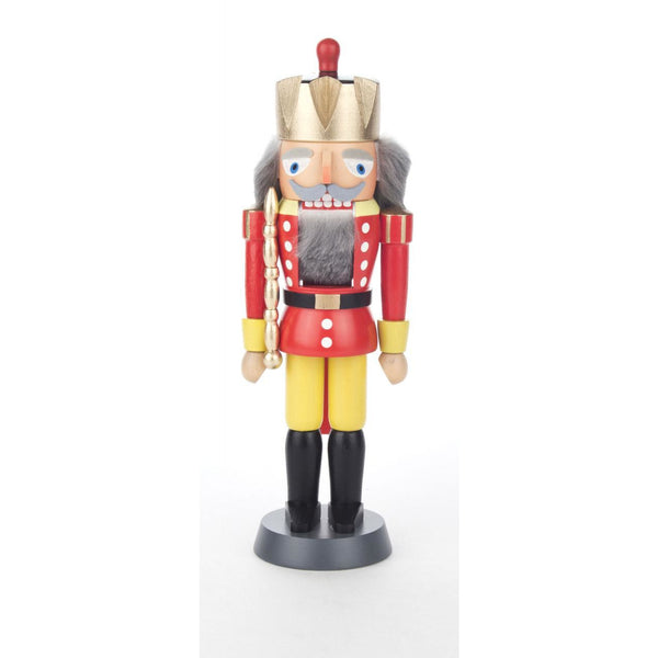 Nutcracker King Red - Yellow 20cm - toybox.ae