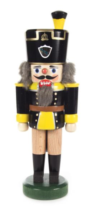 Nutcracker yellow / black 20cm - toybox.ae