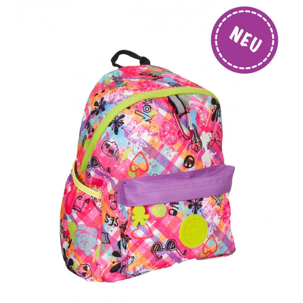 Okiedog Wild Pack Graffiti Backpack - (L) Tattoo - toybox.ae